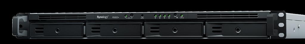 RackStation RS820+/RS820RP+