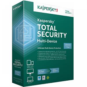 Kaspersky Total Security Multi-Device Boxset   1 設備   3 年 (SOFBOXKTSMD1D3Y)