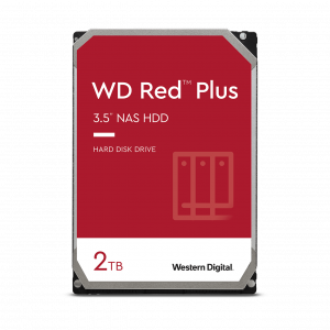 WD Red™ Plus NAS Hard Drive 3.5″ – WD20EFRX