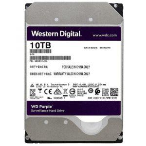 Western Digital Purple Surveillance Hard Drive 10TB (WD102EJRX)