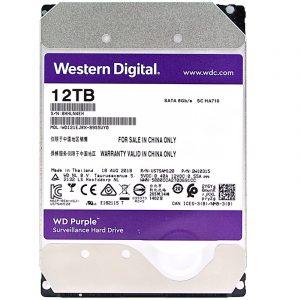 Western Digital Purple Surveillance Hard Drive 12TB (WD121EJRX)