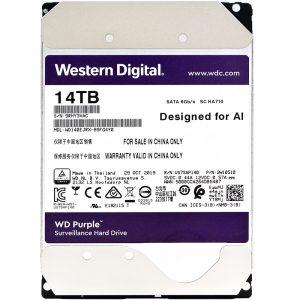 Western Digital Purple Surveillance Hard Drive 14TB (WD140EJRX)