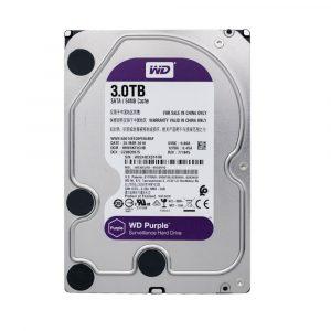 Western Digital Purple Surveillance Hard Drive 3TB (WD30EJRX)
