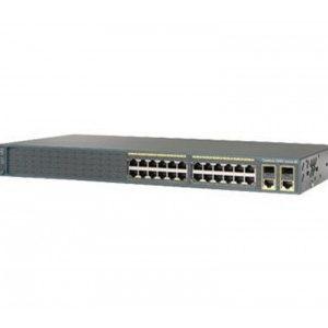 Cisco WS-C2960-24TC-L Network Switch