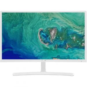 Acer 24吋全高清 75Hz 1800R 曲面顯示器 白色 ED242QRWI/EP