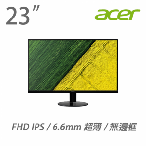 Acer 23″ SA230ABMI/EP LED Monitor (IPS, VGA, HDMI, Speaker)