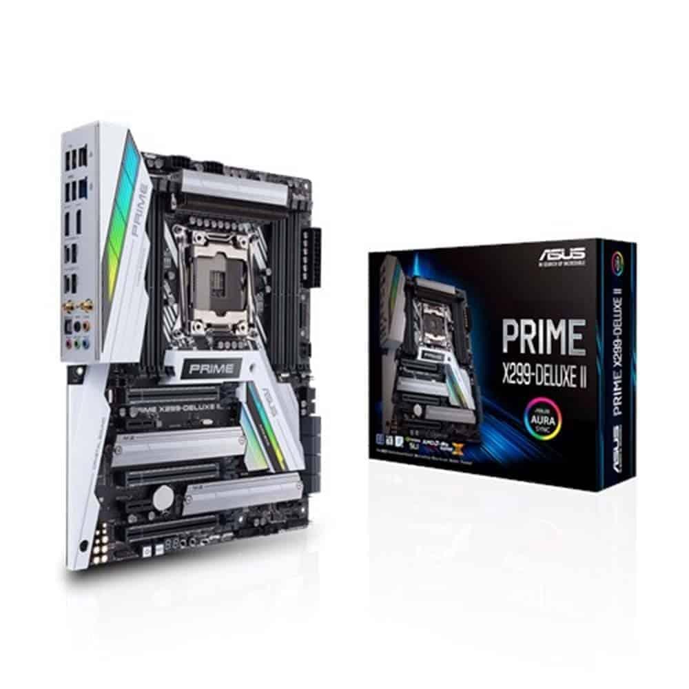 ASUS 主機板 PRIME X299-A II, Intel®X299, LGA 2066, ATX (MB-AX29PA2)