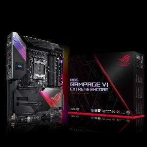 ASUS 主機板 ROG RAMPAGE VI EXTREME ENCORE , Intel®X299, LGA2066, E-ATX (MB-AX29REE)