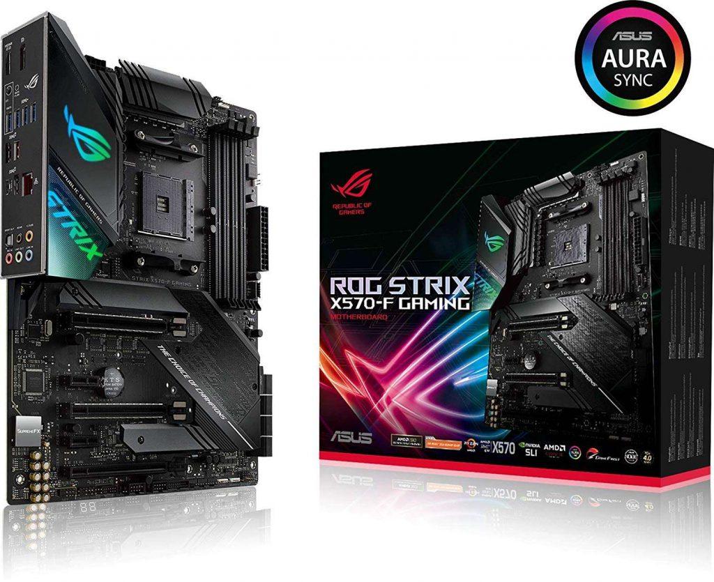 ASUS 主機板 ROG STRIX X570-F GAMING , AMD®X570, AM4, ATX (MB-BX57SF)