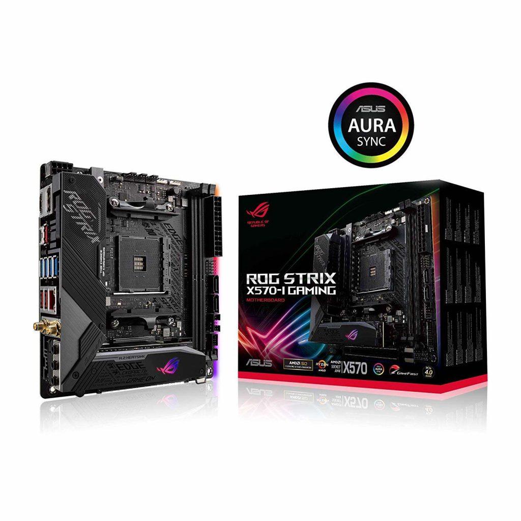 ASUS 主機板 ROG STRIX X570-I GAMING , AMD®X570, AM4, mini-ITX (MB-BX57SI)