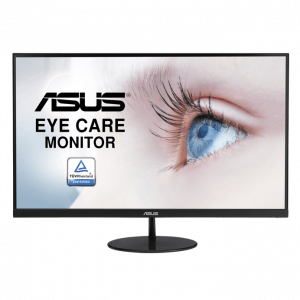 ASUS 華碩 VL249HE 超低藍光護眼顯示屏 (23.8吋 FHD (1920×1080)、75Hz、IPS、Adaptive-Sync) (VL249HE/EP)