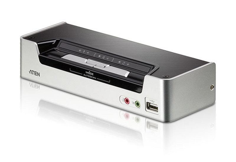 ATEN 2埠USB HDMI/音訊 KVMP™多電腦切換器 (CS1792)